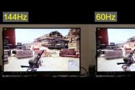 视频:60Hz和144Hz电竞显示器吃鸡画质对比