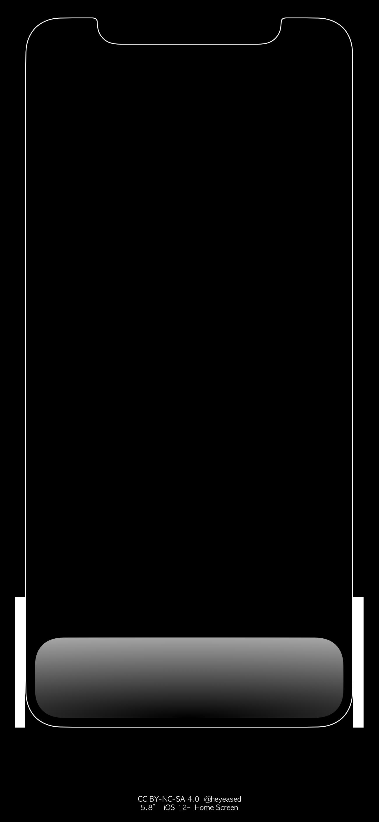iphone x和xs炫彩dock栏壁纸大全 苹果iphone x/xs发光壁纸高清