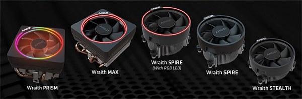 AMD新版锐龙处理器捆绑高级Wraith Max散热器 超频再无压力!