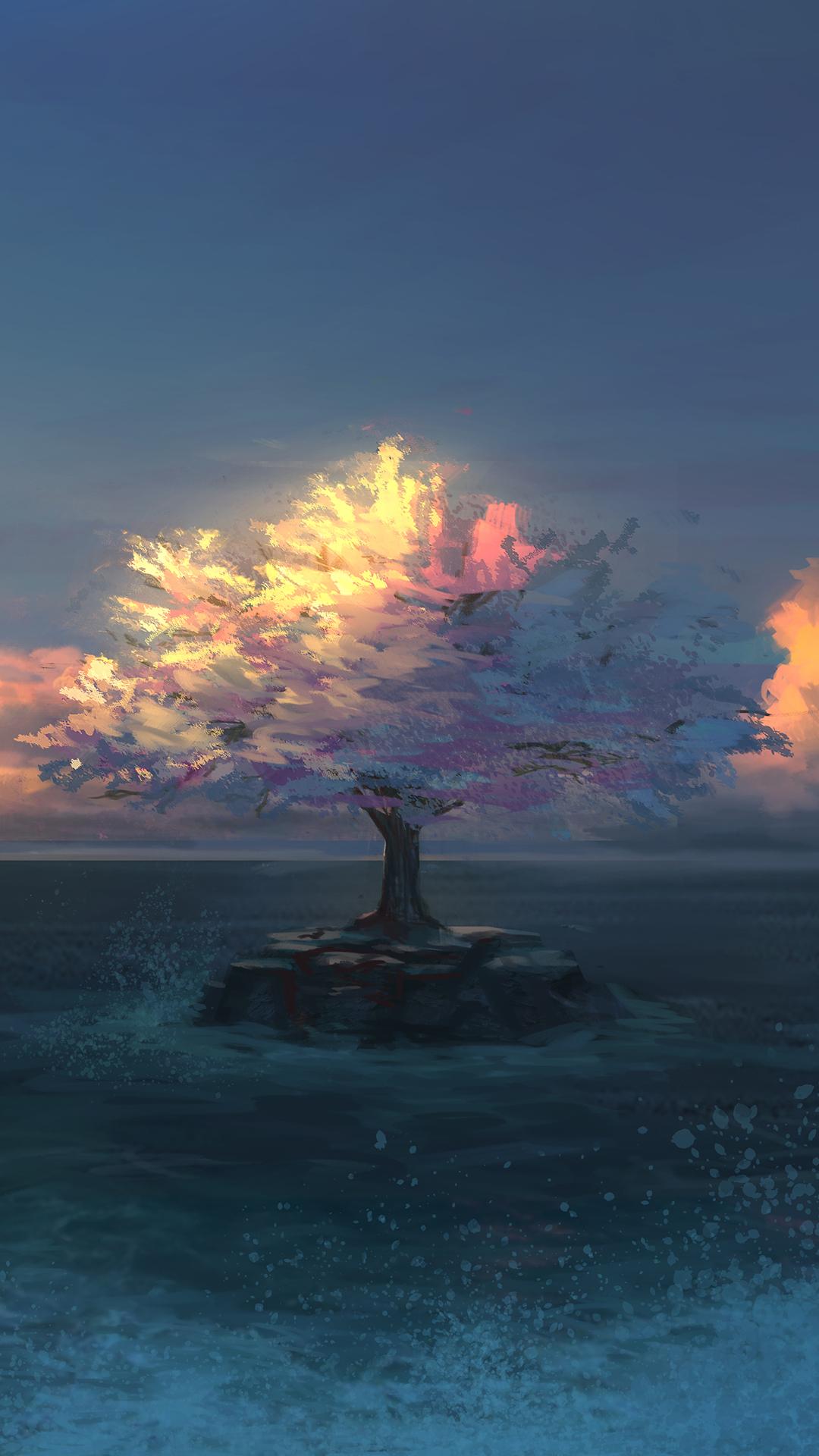 32张漂亮的自然风光微信7.0聊天背景图片推荐 唯美自然风景手机壁纸