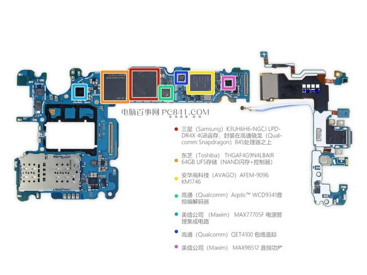 三星S9+拆机图解:揭秘三星Galaxy S9+做工如何