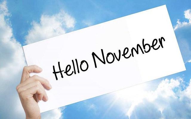 10月再见,11月你好朋友圈说说 2018十一月你好唯美句子